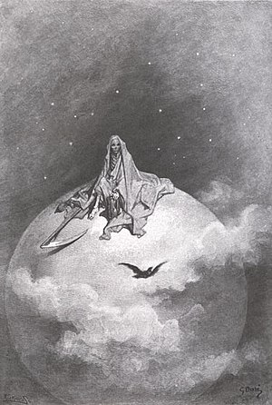 Illustration: Death Depicted as the Grim Reape...