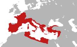 Roman Republic   Wikipedia Roman provinces on the eve of the assassination of Julius Caesar  44 BC