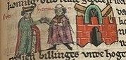Hermann an der Seite Ottos I. des Großen