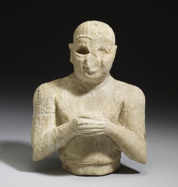 Ancient Sumerian Male Worshipper