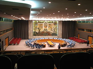 United Nations, Security Council hall