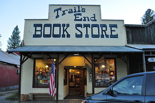 Winthrop, Washington - Trail's End Book Store 01