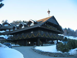 English: The Trapp Family Lodge in Stowe.