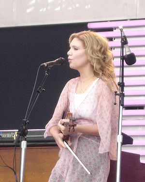 Alison Krauss Performing at the Crossroads Mus...