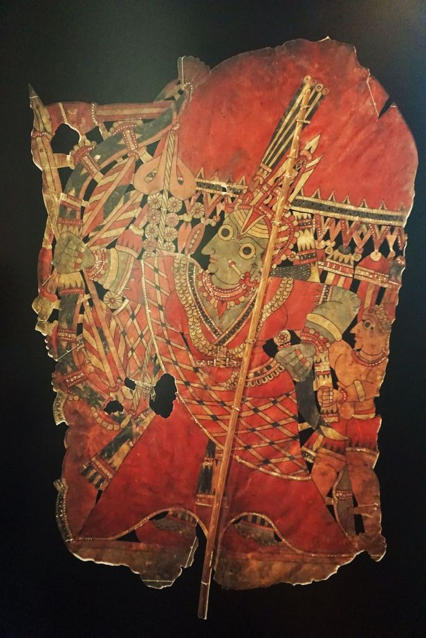 Asian Civilisations Museum - Shadow puppet Rama