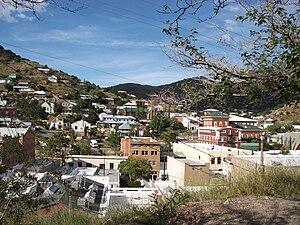 La ville de Bisbee en Arizona
