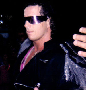 English: Bret Hart at a WWF event in 1994