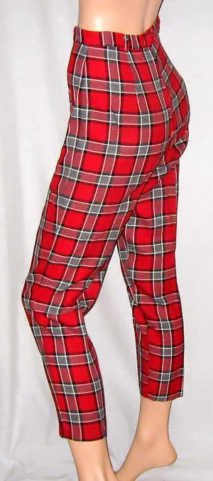 Example capri pants.