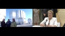 File:Chilean President Michelle Bachelet holds video conference with Paranal Observatory from Expo Milano 2015.webm