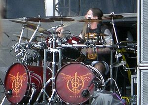 English: Chris Adler, Lamb of God, at Sonisphe...