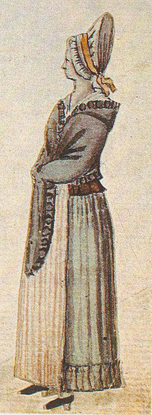 German housekeeper by Brotze
