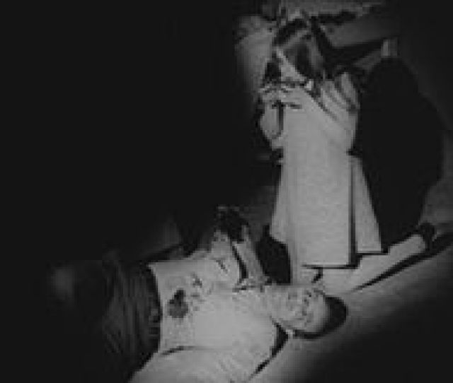 A Young Zombie Kyra Schon Feeding On Human Flesh From Night Of The Living Dead