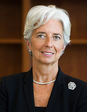 Christine Lagarde, Managing Director, Internat...
