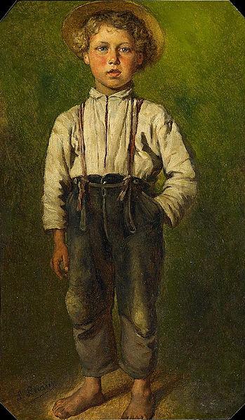 File:Ludwig Knaus Porträt eines Jungen.jpg