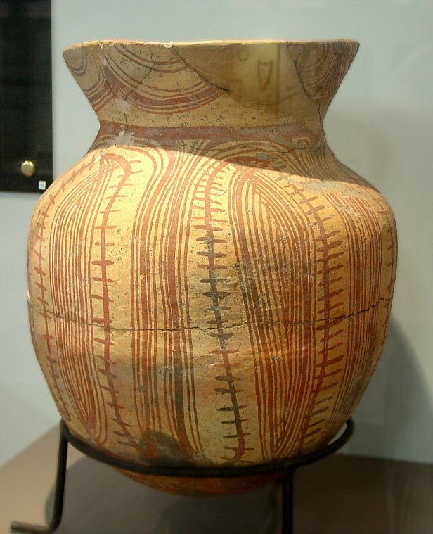 Neolithic Pottery from Ban Chiang. Bangkok National Museum