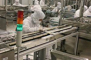 New drives for notebooks roll off of factory lines