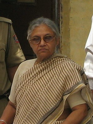 Sheila Dikshit Chief Minister of Delhi India2