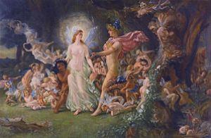 Study for The Quarrel of Oberon and Titania by...