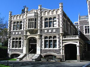 English: University of Otago Marama Hall, Dune...