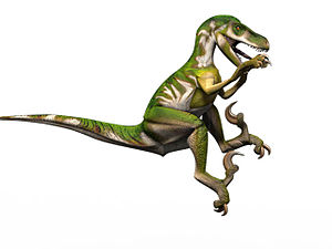 English: Utah Raptor
