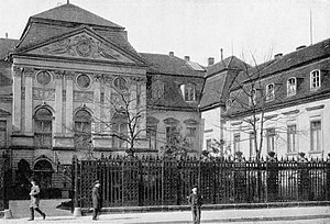 Old Reich Chancellery, ca. 1895