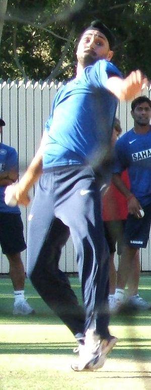 Harbhajan Singh at Adelaide Oval