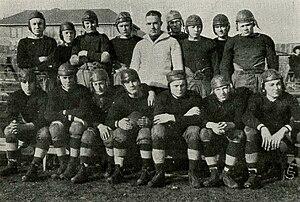 Indiana High School football team, circa 1921