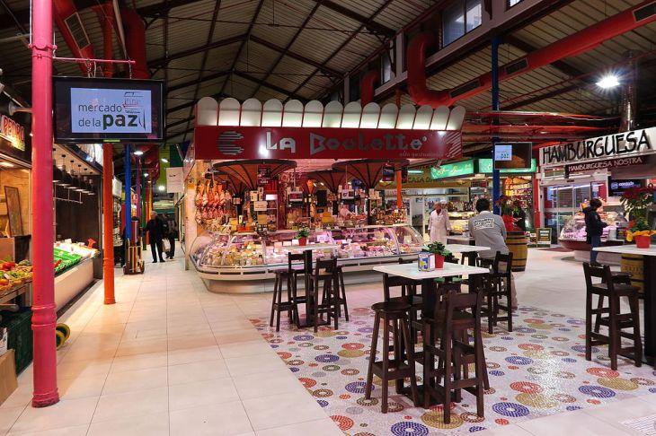 Mercado de la Paz, interior