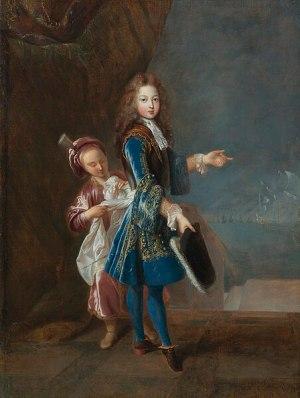 File:Oil on canvas portrait of Louis Alexandre de Bourbon, Légitimé de France, Count of Toulouse by François de Troy.jpg