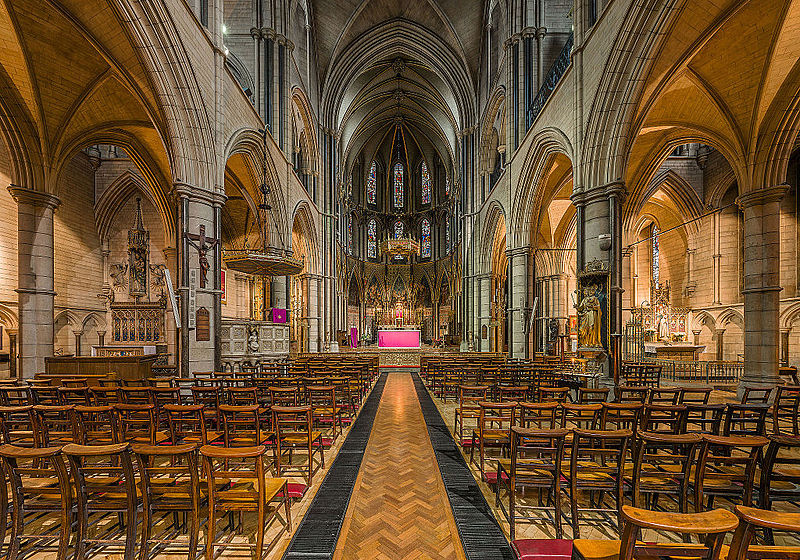 File:St James's Church Interior 2, Spanish Place, London, UK - Diliff.jpg