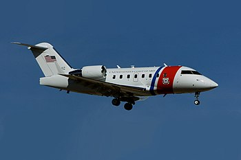 English: The U.S. Coast Guard VC-143 Challenge...