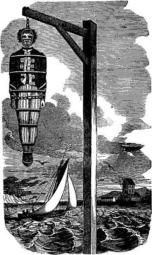 Hanging of William Kidd