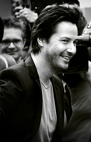 Keanu Reeves at The Lake House London premiere