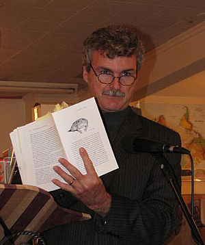 English: Ken Lamberton reading in Amherst, MA ...