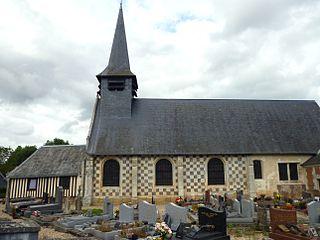 église Sainte-Geneviève du Favril (Eure)