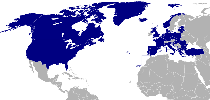 File:Map of NATO countries.png