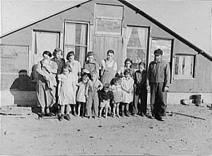Family of John Harshenberger. Two children wer...