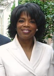 Oprah Winfrey at her 50th birthday party at Ho...