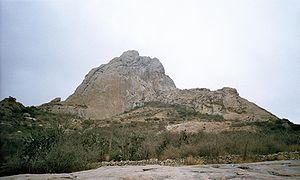 RockyPeakBernal inQueretaroMexico
