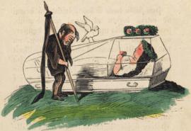 Gravura de uma edição do século XIX da Branca de Neve