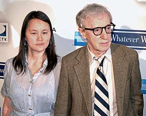 English: Soon-Yi Previn and Woody Allen at the...