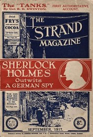The Strand Magazine (cover), vol. 65, no. 321, September 1917