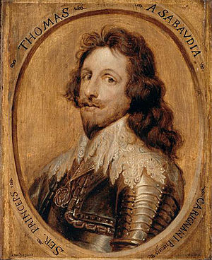 Portrait of Thomas Francis, Prince of Carignano.