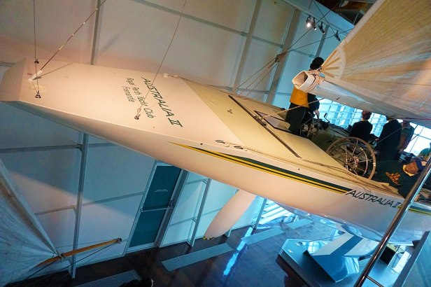 WA Maritime Museum - Joy of Museums - Australia II