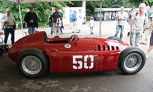 Deutsch: Lancia D50A, Formel-1-Rennwagen von 1...
