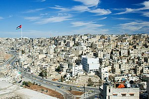 An overview of Amman in Jordan, the host city