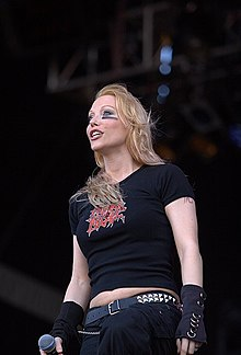 Angela Gossow (via Wikipedia)