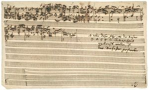 J.S. Bach's The Art of Fugue, breaks off abrup...