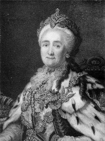 Alexander Roslin - Catherine II