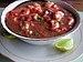 Ecuadorian ceviche, made of shrimp, lemon and ...